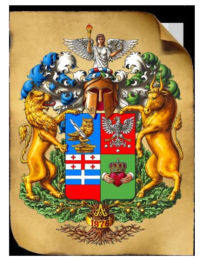 Герб Ананиковых А (на холсте)